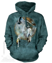 Image for The Mountain Hoodie - Wolf Spirit Shield