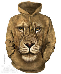 The Mountain Hoodie - Lion Warrior