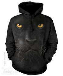 Image for The Mountain Hoodie - Black Panther Face