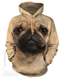 The Mountain Hoodie - Pug Face