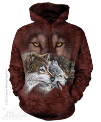 The Mountain Hoodie - Find 9 Wolves