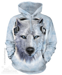 Image for The Mountain Hoodie - White Wolf