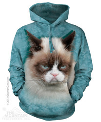 Image for The Mountain Hoodie - Grumpy Cat