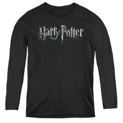 Image for Harry Potter Women's Long Sleeve T-Shirt - Classic Logo