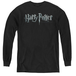 Image for Harry Potter Youth Long Sleeve T-Shirt - Classic Logo