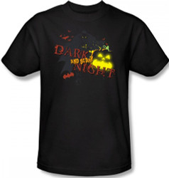 Batman T-Shirt - Halloween Dark and Scary Night Image 2