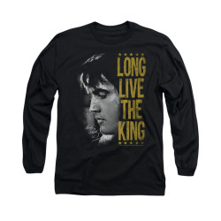 Image for Elvis Long Sleeve T-Shirt - Long Live the King!