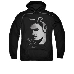 Image for Elvis Hoodie - Simple Face