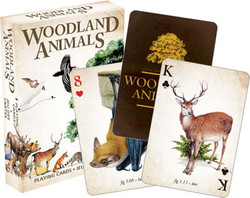 Image for Woodland Animals Playing Cards