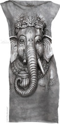 Image for The Mountain Girls Mini Dress - Big Face Ganesh