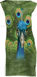 Image for The Mountain Girls Mini Dress - Vibrant Peacock