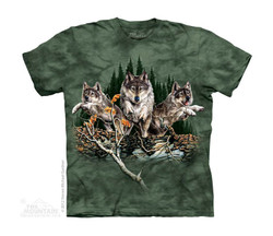 Image for The Mountain Youth T-Shirt - Find 12 Wolves
