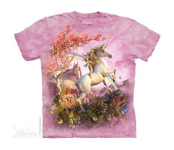 Image for The Mountain Youth T-Shirt - Awesome Unicorn