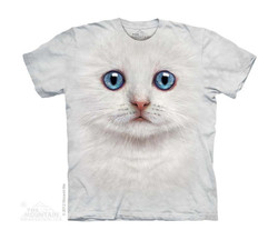 Image for The Mountain Youth T-Shirt - Ivory Kitten Face