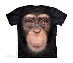 Image for The Mountain Youth T-Shirt - Chimp Face