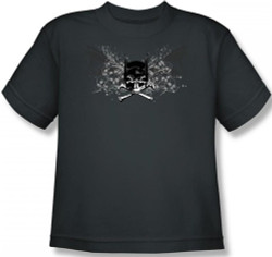 Batman Youth T-Shirt - Ill Omen Logo Image 2