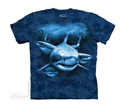 Image for The Mountain Youth T-Shirt - Shark Moon Eyes