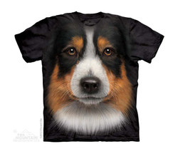Image for The Mountain Youth T-Shirt - Australian Sheperd