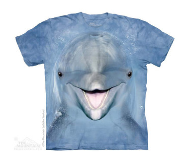 Image for The Mountain Youth T-Shirt - Dolphin Face
