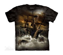 Image for The Mountain Youth T-Shirt - Kraken