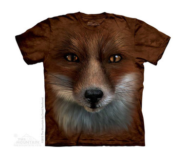 Image for The Mountain Youth T-Shirt - Big Face Fox
