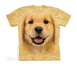Image for The Mountain Youth T-Shirt - Golden Retriever Pup