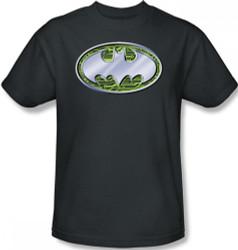 Image Closeup for Batman T-Shirt - Circuits Logo