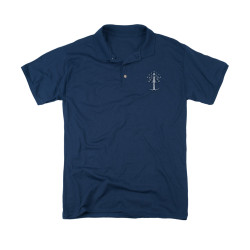 Image for Lord of the RingsPolo Shirt - Tree Logo Embroidered Patch