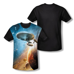 Image for Star Trek Sublimated Youth T-Shirt - Final Frontier