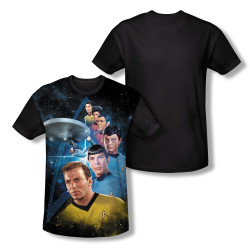 Image for Star Trek Sublimated Youth T-Shirt - Among the Stars