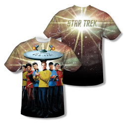 Image Closeup for Star Trek Sublimated T-Shirt - Original Crew