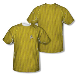 Image Closeup for Star Trek Sublimated T-Shirt - New Movie Command Uniform