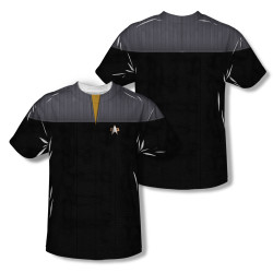 Image Closeup for Star Trek Sublimated T-Shirt - TNG Movie Engineering Uniform