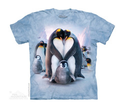 Image for The Mountain Youth T-Shirt - Penguin Heart