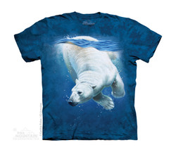 Image for The Mountain Youth T-Shirt - Polar Bear Dive
