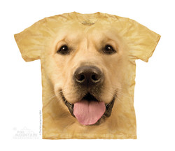 Image for The Mountain Youth T-Shirt - Big Face Golden