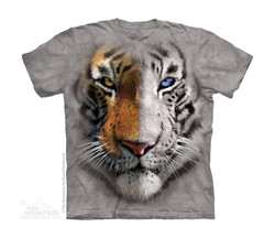 Image for The Mountain Youth T-Shirt - BF Split Tiger