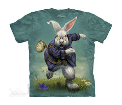 Image for The Mountain Youth T-Shirt - White Rabbit