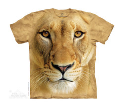 Image for The Mountain Youth T-Shirt - Big Face Lioness