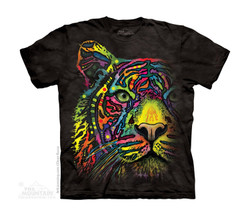 Image for The Mountain Youth T-Shirt - Rainbow Tiger