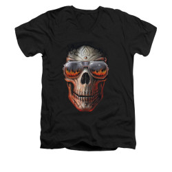 Image for Anne Stokes V-Neck T-Shirt - Hellfire