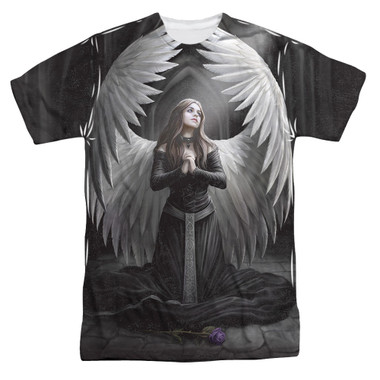 Image for Anne Stokes Sublimated T-Shirt - Prayer for the Fallen 100% Polyester