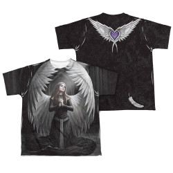 Image Closeup for Anne Stokes Sublimated Youth T-Shirt - Prayer for the Fallen