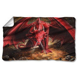 Image for Anne Stokes Fleece Blanket - Dragon's Lair