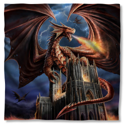 Image for Anne Stokes Bandana - Dragon's Fury