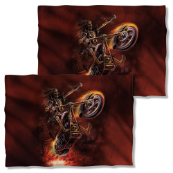Image Closeup for Anne Stokes Pillow Case - Hellrider