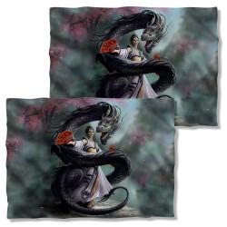 Image Closeup for Anne Stokes Pillow Case - Dragon Dancer