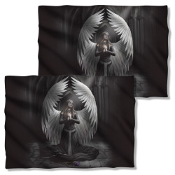 Image Closeup for Anne Stokes Pillow Case - Prayer for the Fallen