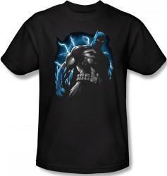 Image Closeup for Batman T-Shirt - Gotham Lightning