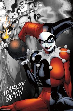 Image for Harley Quinn Poster - the Bomb